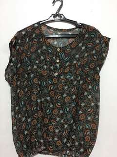 Pre loved Floral Sleeveless Top