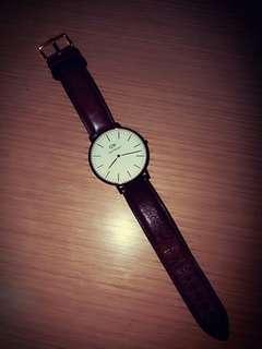 DW 錶 Brown