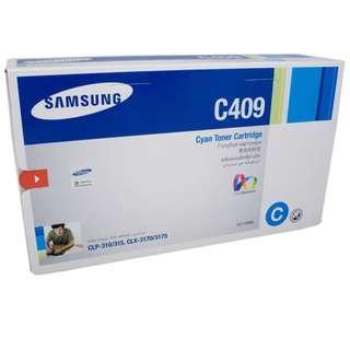(BNIB) Samsung C409 cyan toner cartridge