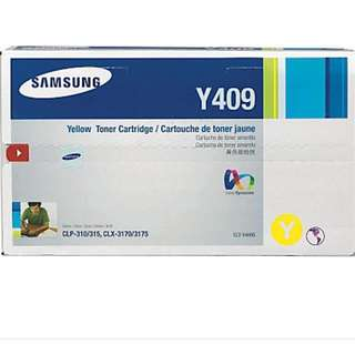 (BNIB) Samsung Y409 yellow toner cartridge