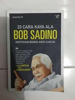 Buku 33 Cara Kaya ala Bob Sadino