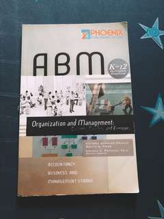 Organization and Management book
