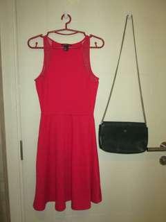 H&M Red Dress #July50