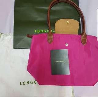 Last Piece! Longchamp Le Pliage Small Long Handle