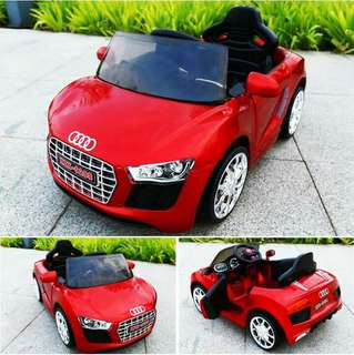 AUDI RIDE ON TOY KIDS CAR RECHARGEABLE