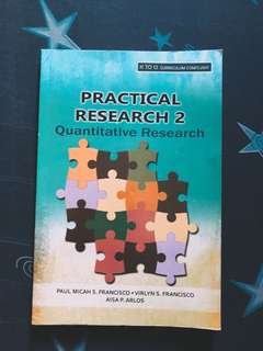 Practical Research 2 Book