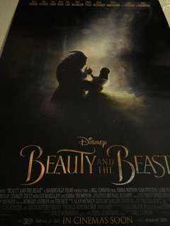 🚚 Beauty and the Beast Movie Poster