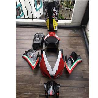 Aprilia RSV4 (2009 - 2014) Racing Fairing Bodywork (for track use only)