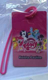 My Little Pony Bag Tag