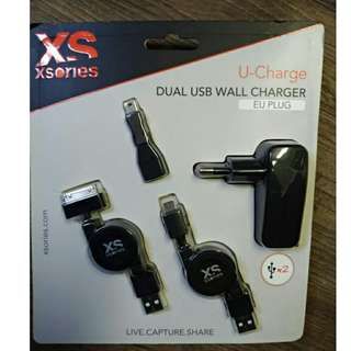 XSories 插頭Wall Charger (歐洲圓兩腳)