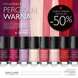 Colourbox Nail polish oriflame