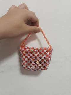 Handmade mini pouch