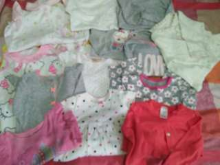Branded baby girl wear 0-24 months