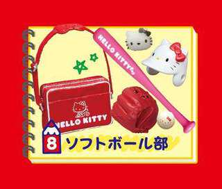 Re-ment Hello Kitty Club Activities Set 8