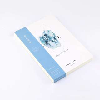 A5 jewel notebook (mint, vol 1)
