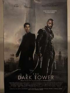 🚚 The Dark Tower Movie Poster