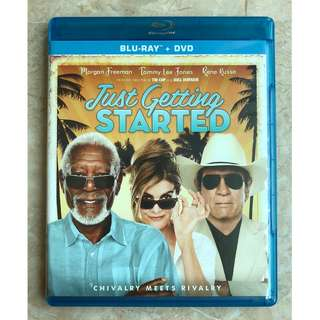 Just Getting Started Blu Ray