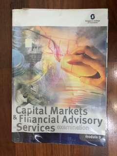 Capital markets& financial Advisory service  Examination