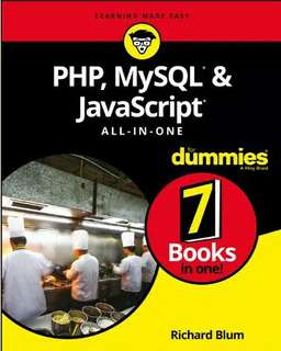 Ebook 2018 PHP MySQL JavaScript For Dummies 7 in 1