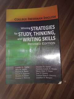Winning Strategies for Study, Thinking and Writing Skills