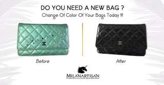DO YOU NEED A NEW BAG ? CHANGE THE COLOR OF YOUR BAGS TODAY !!!