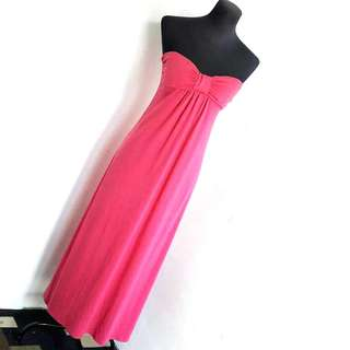 Tube maxi dress with pad