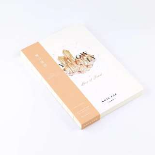 A5 jewel notebook (yellow, vol 2)