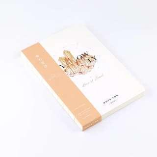 A5 jewel notebook (yellow, vol 2)