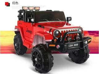 JEEP RIDE ON TOY KIDS CAR