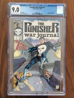 Punisher War Journal Marvel Comics #1 CGC 9.0