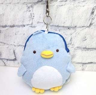 🚚 【日本正版】角落生物 角落小夥伴 藍企鵝 真企鵝 企鵝造型 票卡套 卡套 伸縮卡套 伸縮票卡套 小物包 零錢包【現貨】
