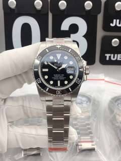 Rolex Submariner 904L Stainless Steel 116610 LN Black Ceramic on 904L Stainless Steel Bracelet