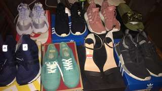 Wardrobe Clean Out - Used / Brand New Shoes