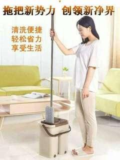 Magic mop with bucket