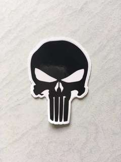 Punisher Sticker skull Sticker