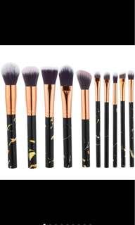 10Pcs Professional Make Up Brush