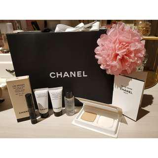 Authentic Chanel Skincare Perfume Sample Kit