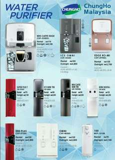 ChungHo 4 in 1 Water Purifier