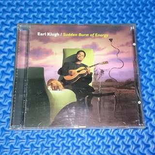 🆒 Earl Klugh - Sudden Burst Of Energy [1996] Audio CD