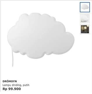 Lampu awan IKea