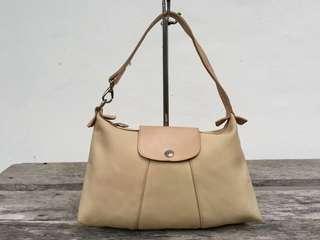 Authentic Longchamp Nylon Small Hobo Bag