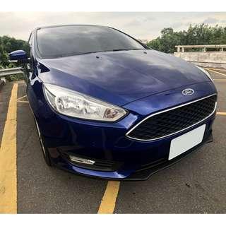 2016 超美 Ford Focus 1.5 極光藍