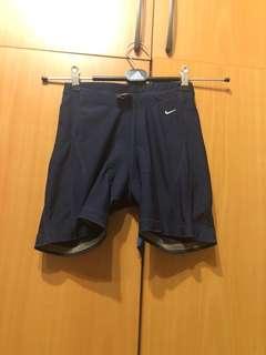 🚚 Nike 深藍色腳踏車短褲xs號