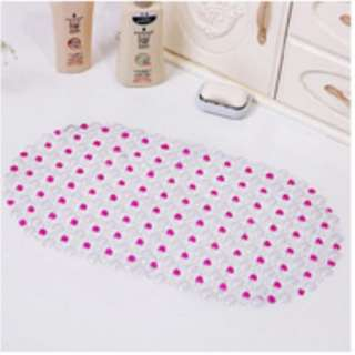 🚚 PVC Bath Mat 37cm*66cm Anti Slip Mat Bathroom Mat Non-Slip Kitchen Floor Mat