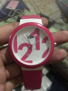 auth LACOSTE watch