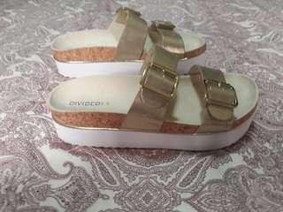H & M Platform Sandals AUTHENTIC