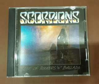 CD Scorpions - Best Of Rockers 'N' Ballads ( USA PRESS )