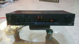 Technice Stereo Integrated  Amplifier Su 500 (Take  Note Picture 3 )