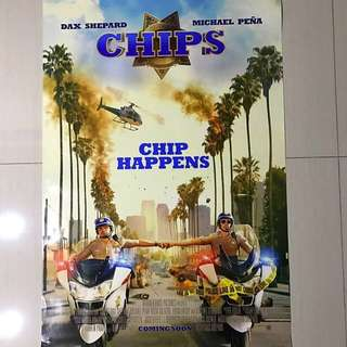 🚚 Chips Movie Poster