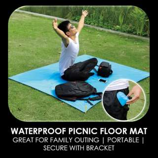 🚚 WATERPROOF MULTI-PURPOSE FLOOR MAT | GREAT FOR PICNIC | BABY BED | 5 COLOURS